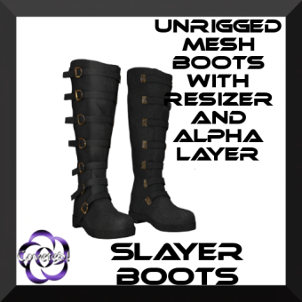 Men's Slayer Boots by COVETED!