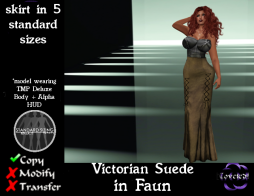 Victorian Suede in Faun